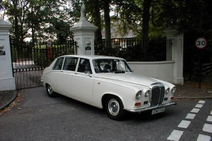 Daimler DS420 Landaulette Wedding Car