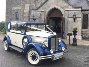 Vintage Wedding Car Hire - Regent Ivory and Cream