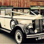 Regent - vintage style wedding car