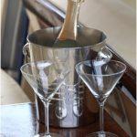 Champaigne and glasses