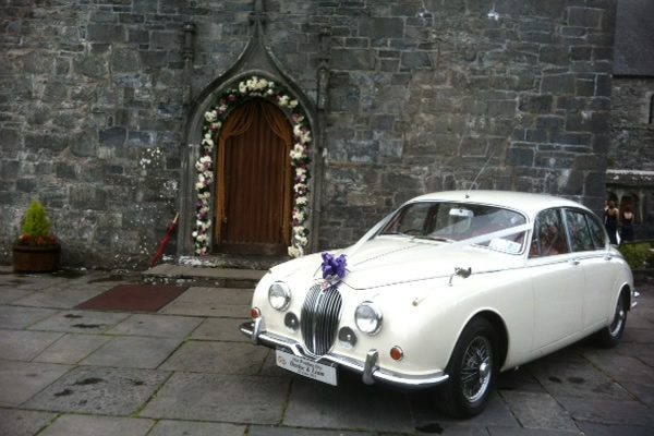 Classic Wedding Car Hire - Jaguar Mk2 1965