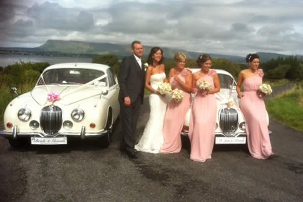 Classic Wedding Car hire - Jaguar Mk11 1965