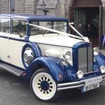 Regent Landaulette (Ivory & Blue)