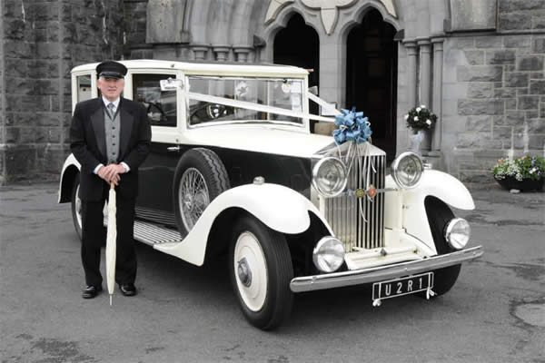 Vintage Wedding Car Hire - Rolls Royce 20/25 with Chauffeur