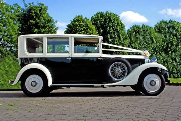 Vintage Wedding Car Hire - Rolls Royce 20/25